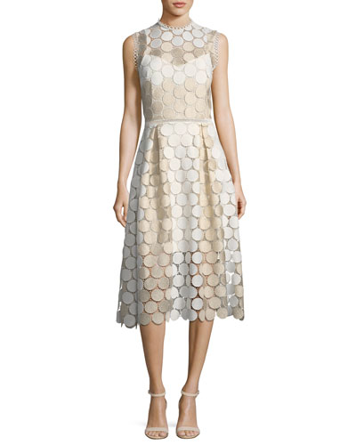 Glengarry Sleeveless Lace Cocktail Dress