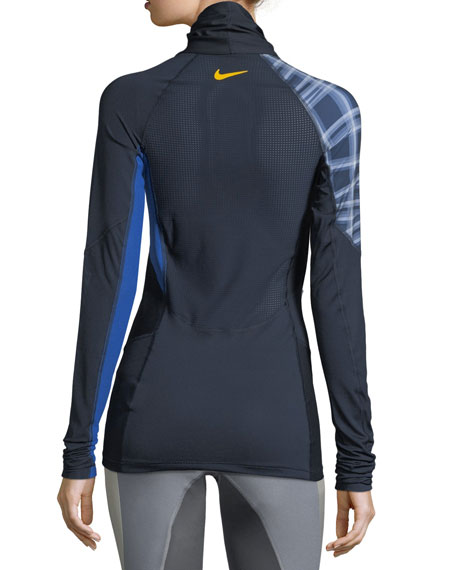 Mock-Neck Long-Sleeve Training Top
