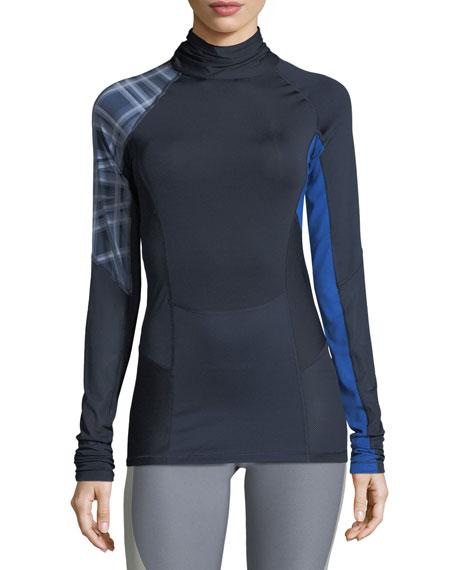 Nike Mock-Neck Long-Sleeve Training Top