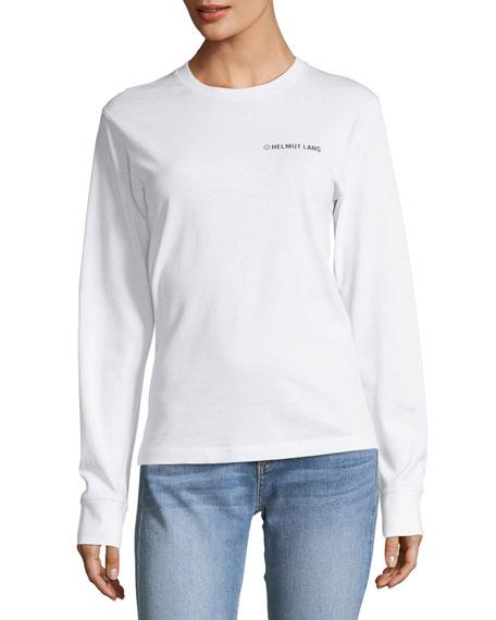 Helmut Lang Taxi-Graphic Long-Sleeve Sweatshirt