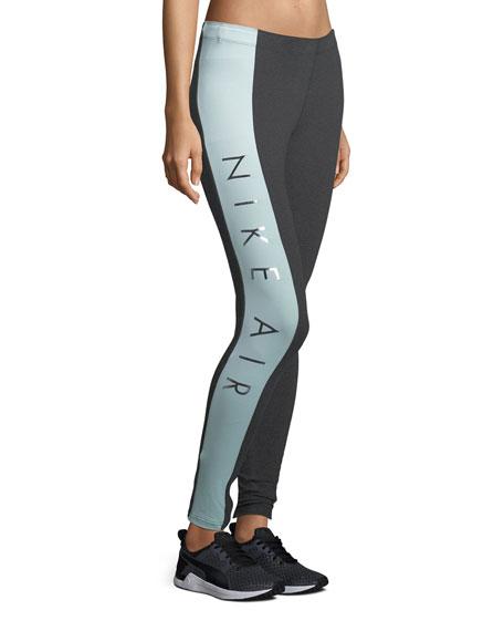 Air Paneled Full-Length Leggings