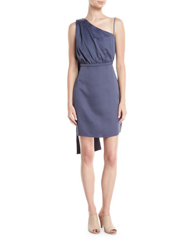Berkshire One-Shoulder Cocktail Dress