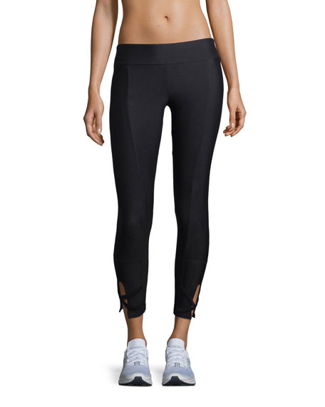 Lanston Rio Cutout Ankle Performance Leggings