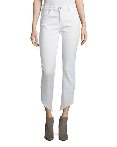 Loren High-Rise Ankle-Length Cigarette Jeans