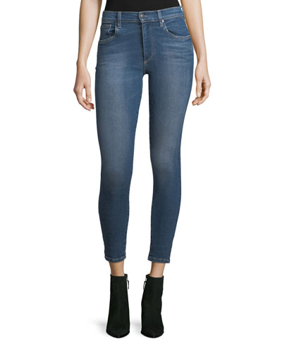 Mia Mid-Rise Skinny-Leg Ankle Jeans