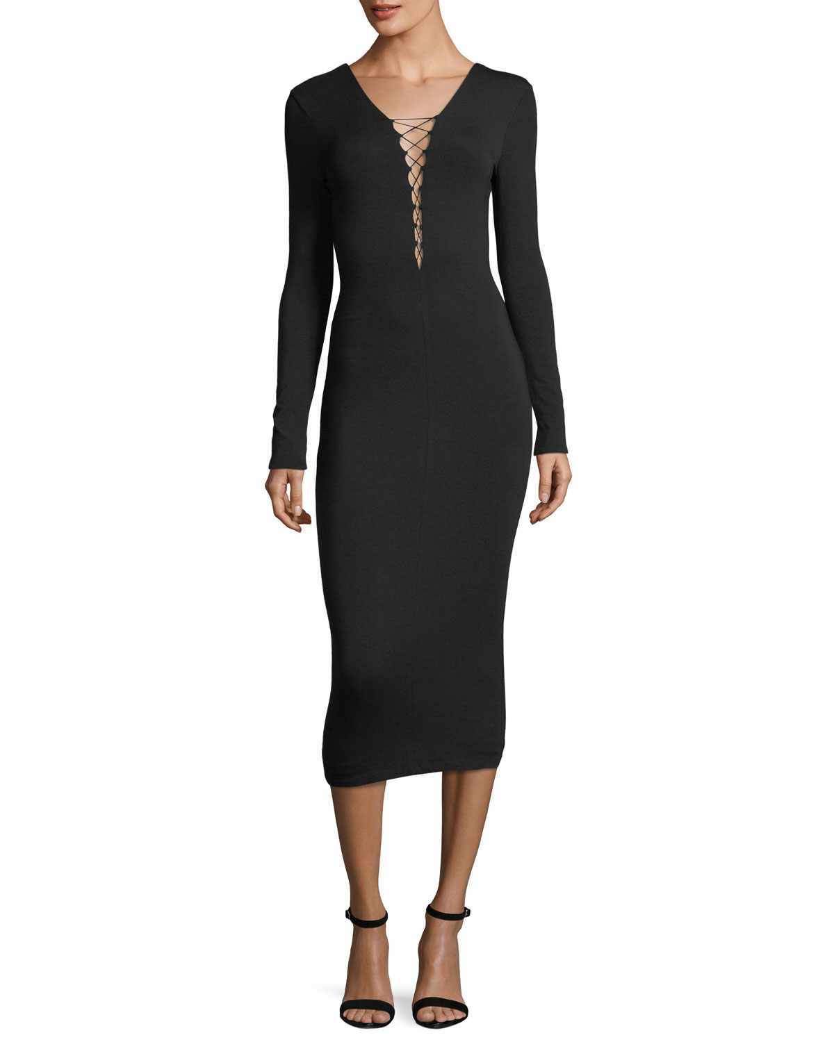 Fitted cocktail dress neiman marcus quick look ombrellifo Gallery