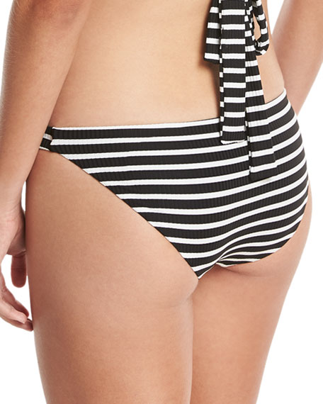 Luciana Striped Hipster Swim Bikini Bottom