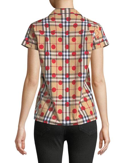 Vireo Dot-Check Shirt