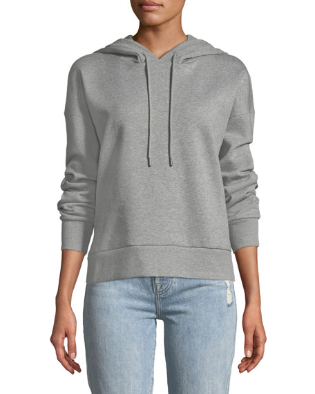 Burberry Embroidered Logo-Hooded Pullover Sweatshirt