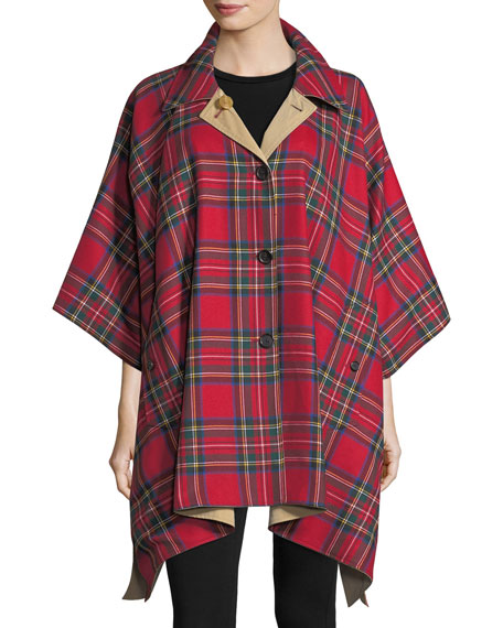 Burberry Greymere Reversible Cape Coat