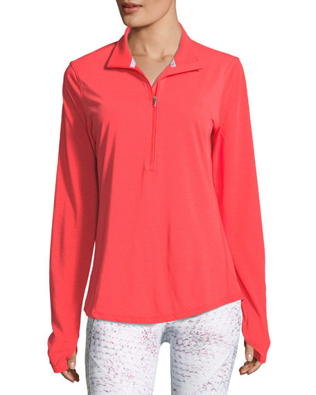 Streaker Half-Zip Long-Sleeve Running Shirt