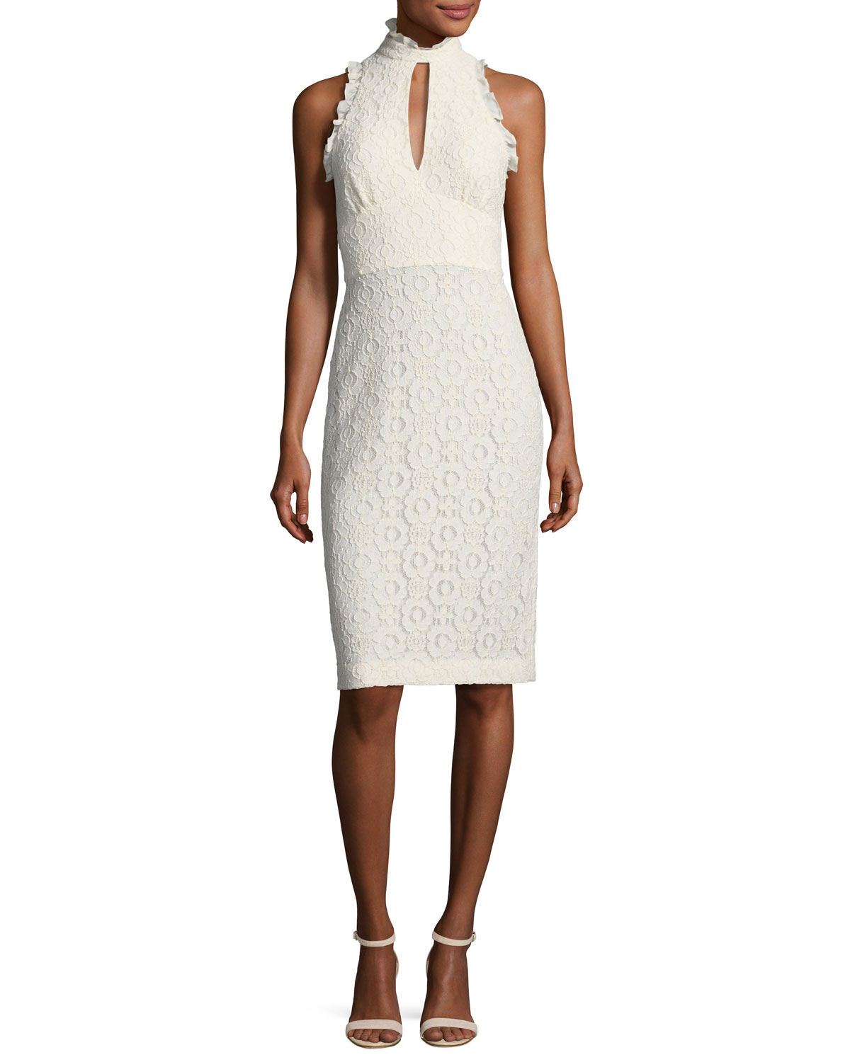 Lace keyhole back dress neiman marcus quick look ombrellifo Image collections