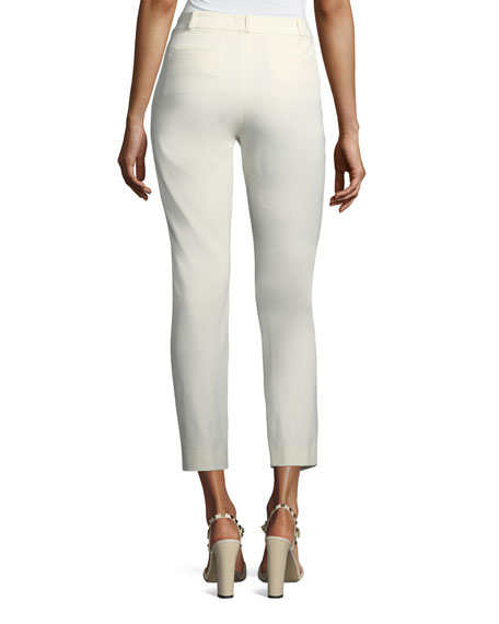 Eliston Gabardine Ankle Trousers