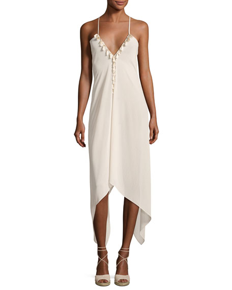 Ramy Brook Kym Cover-Up with Tassles