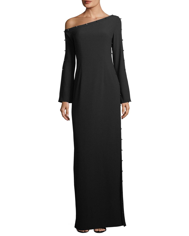One Shoulder Gown | Neiman Marcus