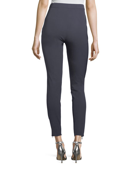 Stretch Twill Cropped Leggings