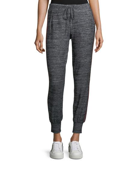 Marled Jersey Jogger Pants