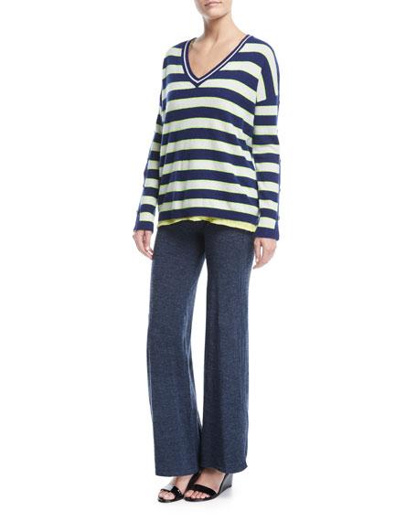 La Playa Jersey Stretch Pants, Plus Size