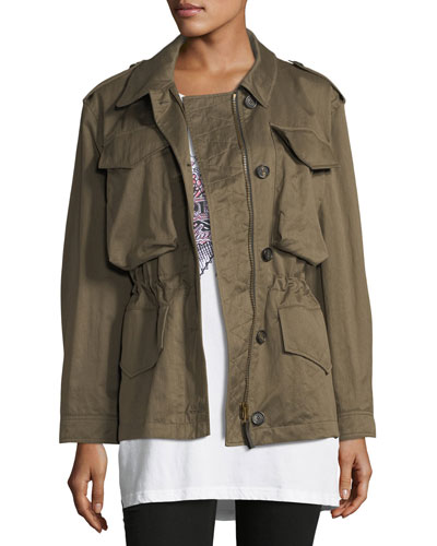 Portwell Four-Pocket Military Jacket