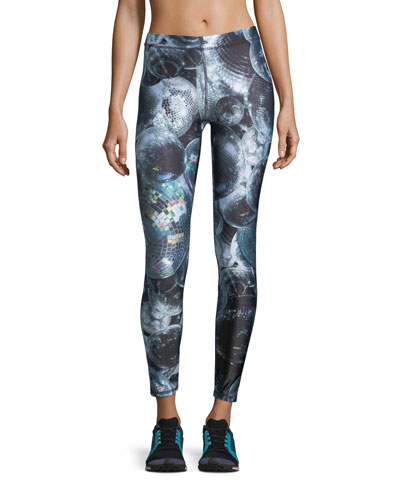 Terez Disco Fever Performance Leggings