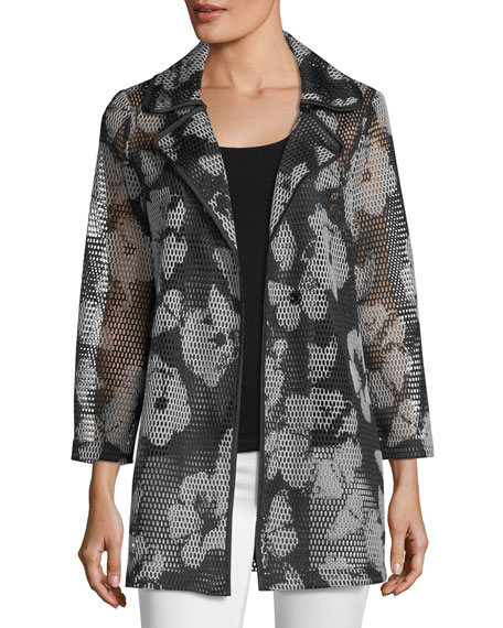 BEREK FIELD OF FLOWERS JACKET, PLUS SIZE