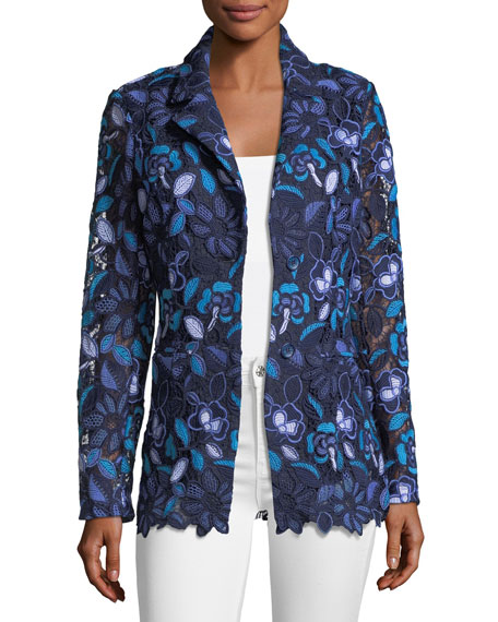 Berek Provence Floral Lace Jacket