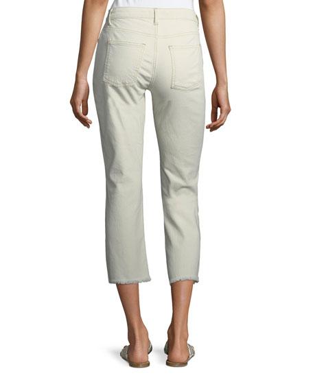 Eileen Fisher Plus Size Stretch Organic Cotton Boyfriend Jeans
