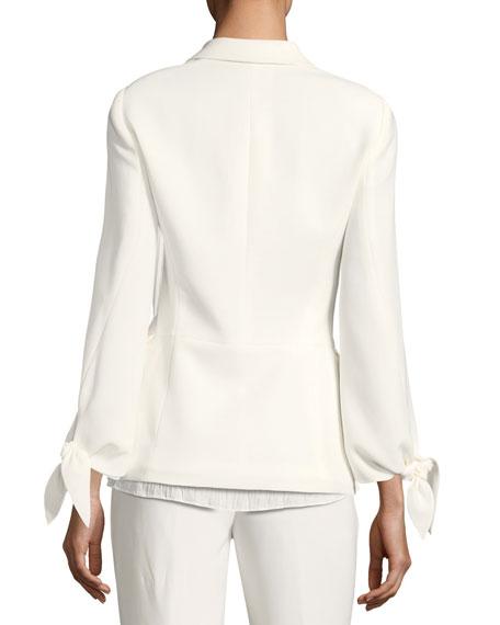 Bria Finesse Crepe Jacket, Plus Size