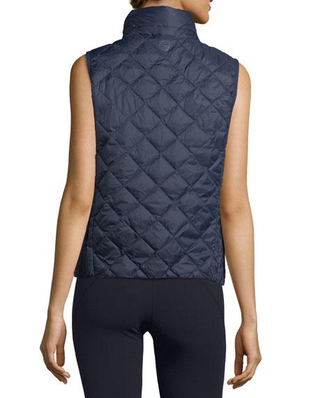 Zip-Front Packable Down Vest