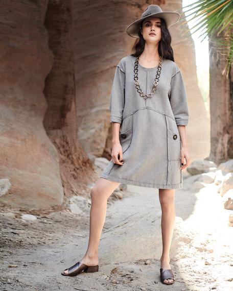 Palma Super Soft Terry Cotton Dress, Plus Size