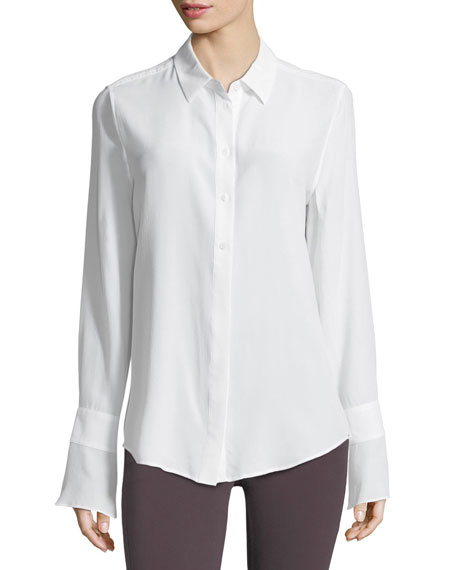 Equipment Daphne Button-Down Silk Shirt