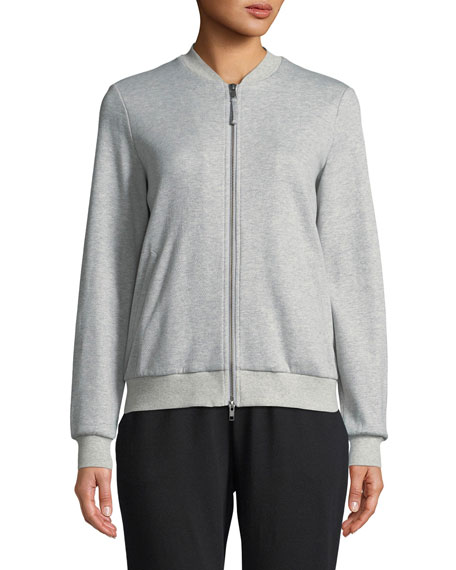 Organic Cotton/Silk Bomber Jacket