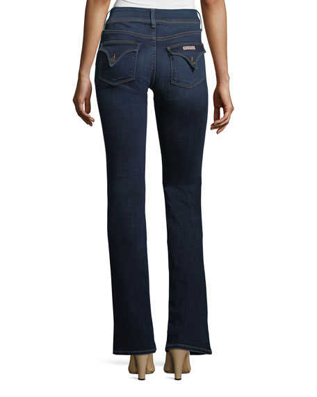 Beth Mid-Rise Babyboot Jeans