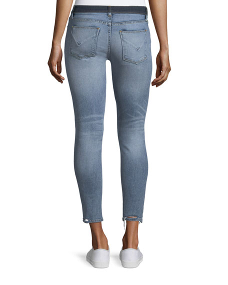 Nico Mid-Rise Crop Super Skinny Jeans