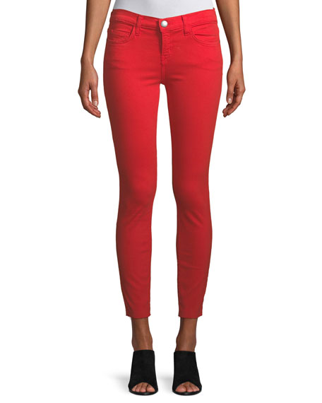 The Stiletto Skinny-Leg Jeans with Raw-Cut Hem