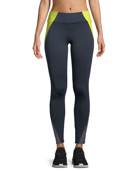 Heroine Sport Tread Colorblock Performance Leggings