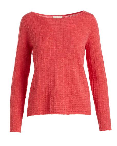 Organic Linen/Cotton Knit Box Top