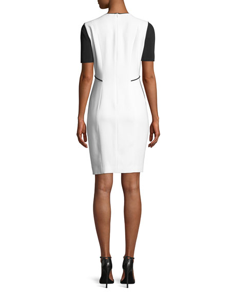 Nixie Keyhole Sheath Dress