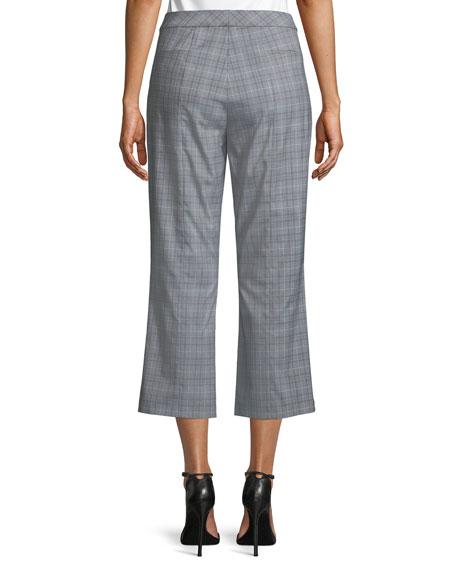 Lisa Glen Plaid Cropped Pants