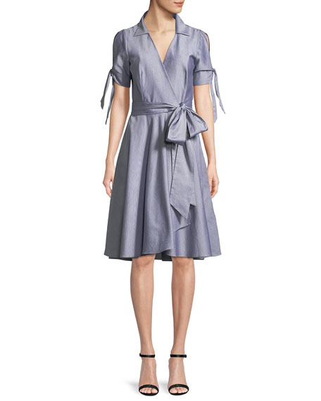 Milly Valerie Oxford Shirting Dress