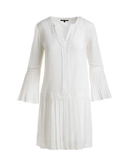 Paloma Bell-Sleeve Mini Dress