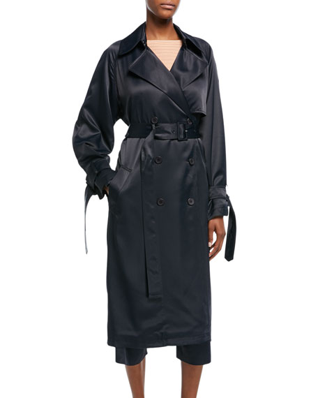 Vince Drapey Belted Trench Coat and Matching Items