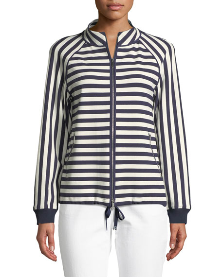 Lafayette 148 New York Allison Bedford Stripe Jacket