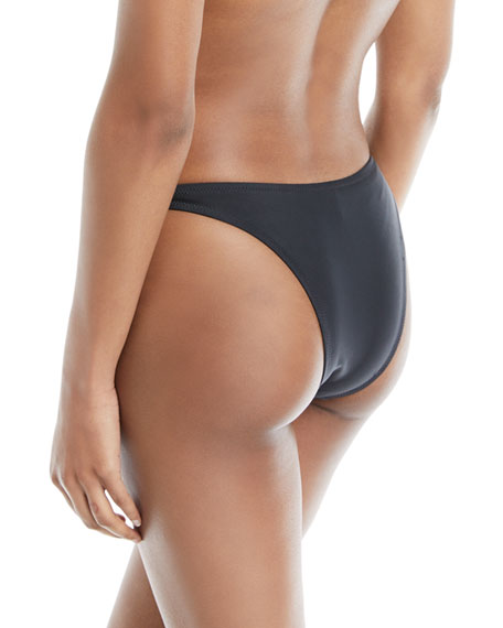 Elsa Minimal-Coverage Solid Swim Bikini Bottoms