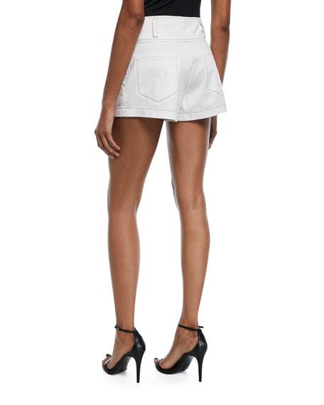 Tous Les Jours Shiloh High-Rise Twill Shorts