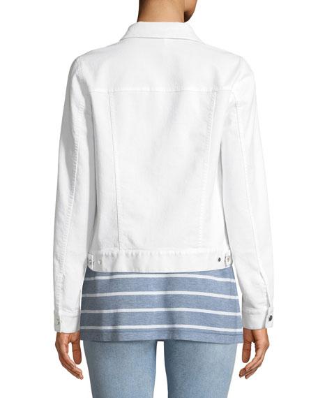 Destiny Yarn-Dyed Denim Jacket