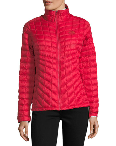 The North Face Thermoball?? Full Zip Jacket, Red