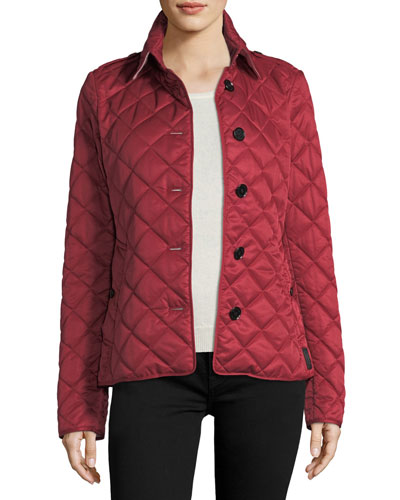 Frankby Quilted Jacket, Parade Red