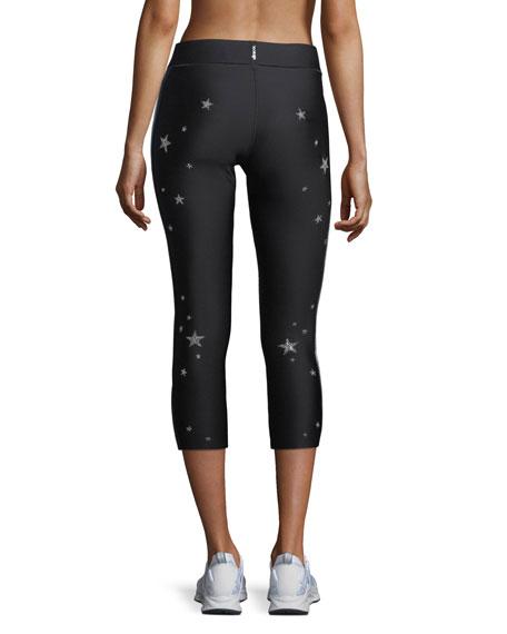 Swarovski® Star Varsity Cropped Leggings