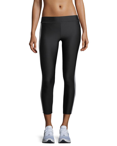 Ultra Lux Collegiate Crystal-Side Leggings